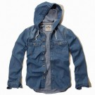 Camisa Jeans Hollister Masculina